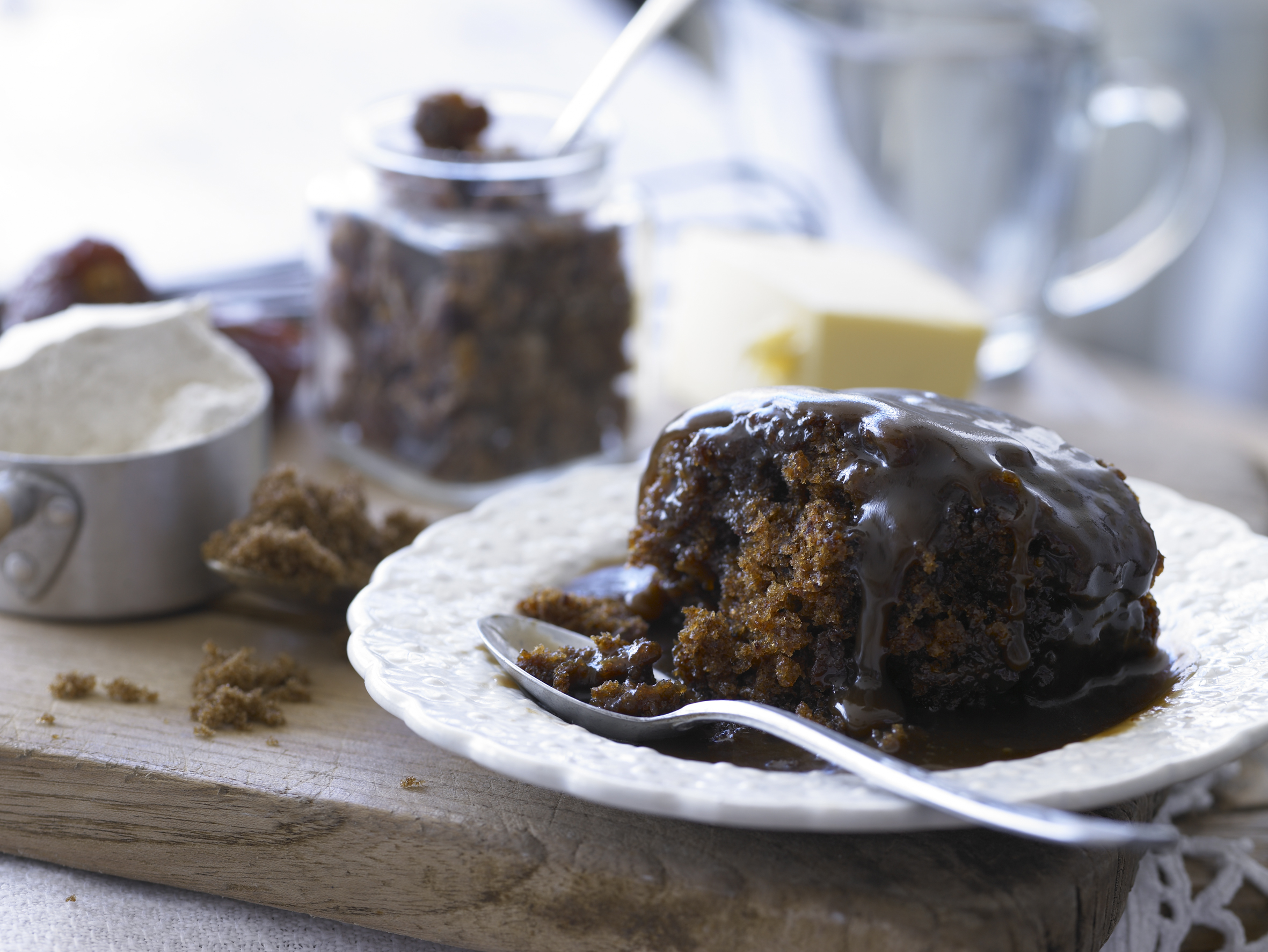 sticky banana pudding with sticky toffee pudding for sticky toffee ...