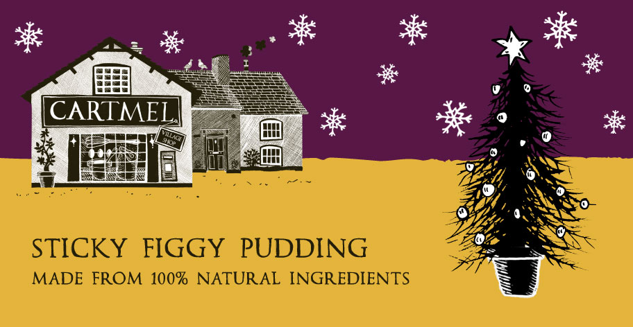 Sticky Figgy Pudding